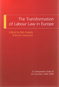 Cover of The Transformation of Labour Law in Europe: A Comparative study of 15 countries 1945-2004
