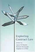 Cover of Exploring Contract Law