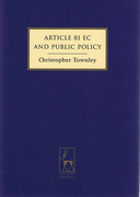 Cover of Article 81 EC and Public Policy