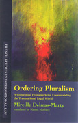 Cover of Ordering Pluralism: A Conceptual Framework for Understanding the Transnational Legal World