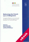 Cover of Reforming the French Law of Obligations (eBook)