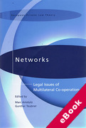 Cover of Networks: Legal Issues of Multilateral Co-operation (eBook)