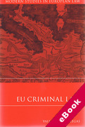 Cover of EU Criminal Law (eBook)
