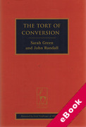 Cover of The Tort of Conversion (eBook)