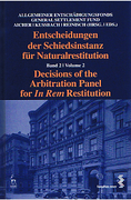Cover of Decisions of the Arbitration Panel for In Rem Restitution Volume 2