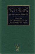 Cover of EU Competition Law in Context: Essays in Honour of Virpi Tiili