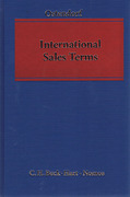 Cover of International Sales Terms