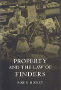 Cover of Property and the Law of Finders