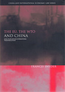 Cover of EU, the WTO and China: Legal Pluralism and International Trade Regulation