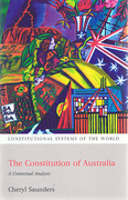 Cover of The Constitution of Australia: A Contextual Analysis