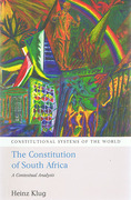 Cover of The Constitution of South Africa: A Contextual Analysis