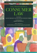 Cover of Cases, Materials and Text on Consumer Law