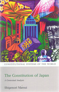 Cover of The Constitution of Japan: A Contextual Analysis