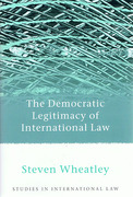 Cover of The Democratic Legitimacy of International Law