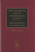 Cover of The European Law of Commercial Agency