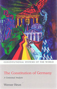 Cover of The Constitution of Germany: A Contextual Analysis