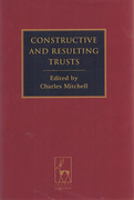 Cover of Constructive and Resulting Trusts