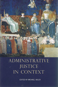Cover of Administrative Justice in Context