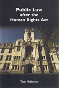 Cover of Public Law after the Human Rights Act