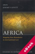 Cover of Africa: Mapping New Boundaries in International Law (eBook)