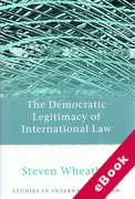 Cover of The Democratic Legitimacy of International Law (eBook)