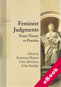 Cover of Feminist Judgments: From Theory to Practice (eBook)