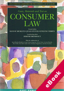 Cover of Cases, Materials and Text on Consumer Law (eBook)
