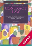 Cover of Cases, Materials and Text on Contract Law (eBook)
