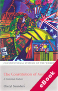 Cover of The Constitution of Australia: A Contextual Analysis (eBook)