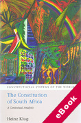 Cover of The Constitution of South Africa: A Contextual Analysis (eBook)