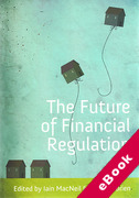 Cover of The Future of Financial Regulation (eBook)