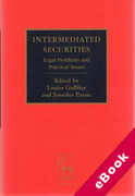 Cover of Intermediated Securities: Legal Problems and Practical Issues (eBook)