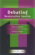 Cover of Debating Restorative Justice