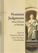 Cover of Feminist Judgments: From Theory to Practice