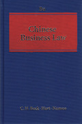 Cover of Chinese Business Law