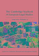 Cover of Cambridge Yearbook of European Legal Studies, Vol 12, 2009-2010