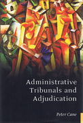 Cover of Administrative Tribunals and Adjudication