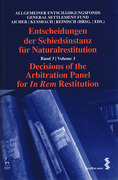 Cover of Decisions of the Arbitration Panel for In Rem Restitution: Volume 3