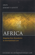 Cover of Africa: Mapping New Boundaries in International Law