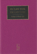 Cover of EU Law for UK Lawyers 2nd ed