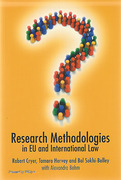 Cover of Research Methodologies in EU and International Law