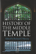 Cover of History of the Middle Temple