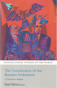 Cover of The Constitution of the Russian Federation: A Contextual Analysis