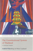 Cover of The Constitutional System of Thailand: A Contextual Analysis