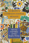 Cover of Europe's Constitutional Mosaic