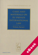 Cover of Cases and Materials on EU Private International Law (eBook)