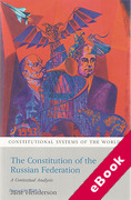 Cover of The Constitution of the Russian Federation: A Contextual Analysis (eBook)