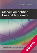 Cover of Global Competition Law and Economics 2nd ed (eBook)