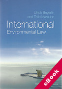 Cover of International Environmental Law (eBook)