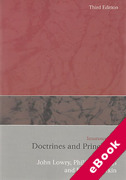 Cover of Insurance Law: Doctrines and Principles 3rd ed (eBook)